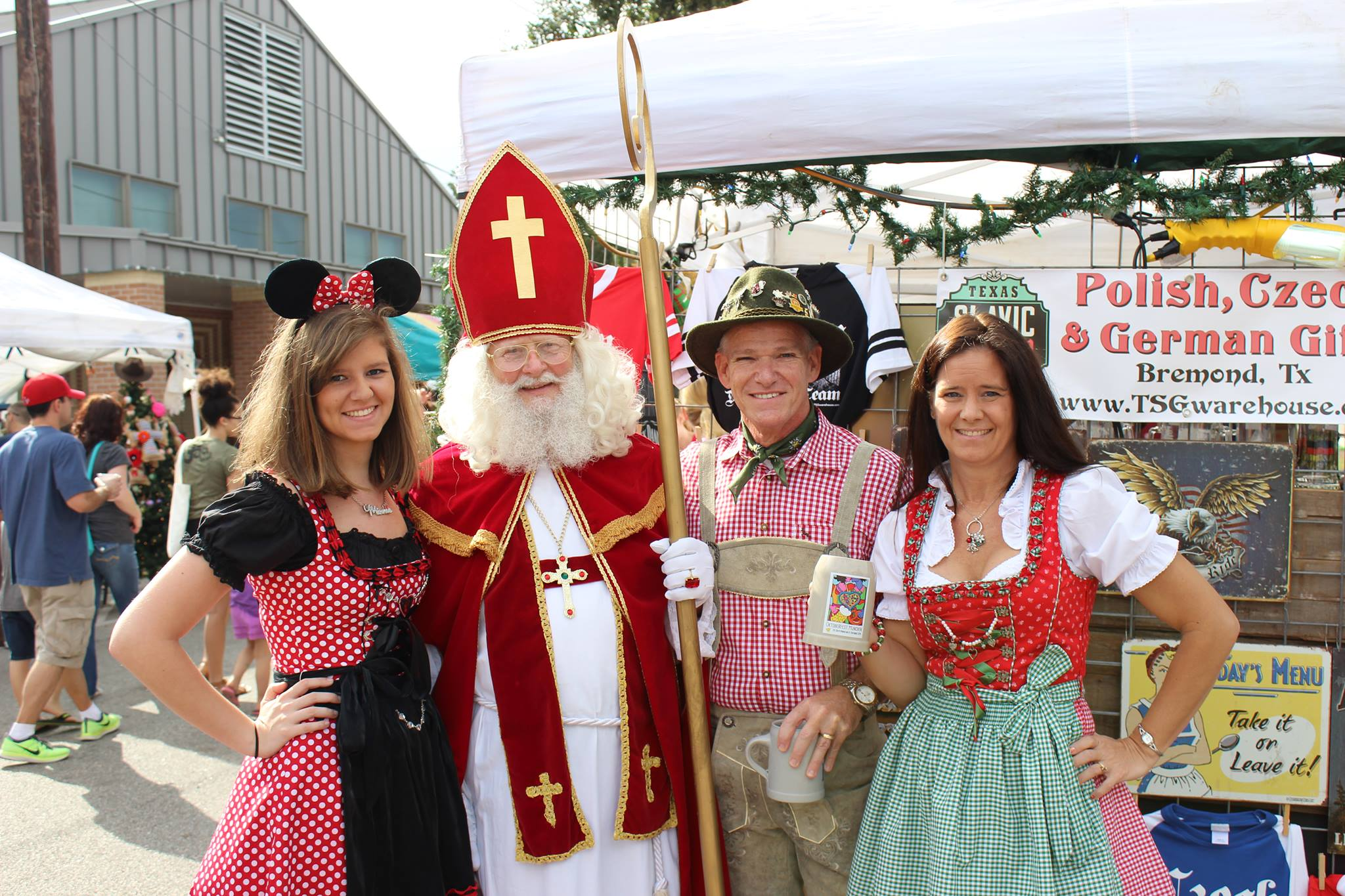 Polonia Restaurant At German Festival in Tomball Texas