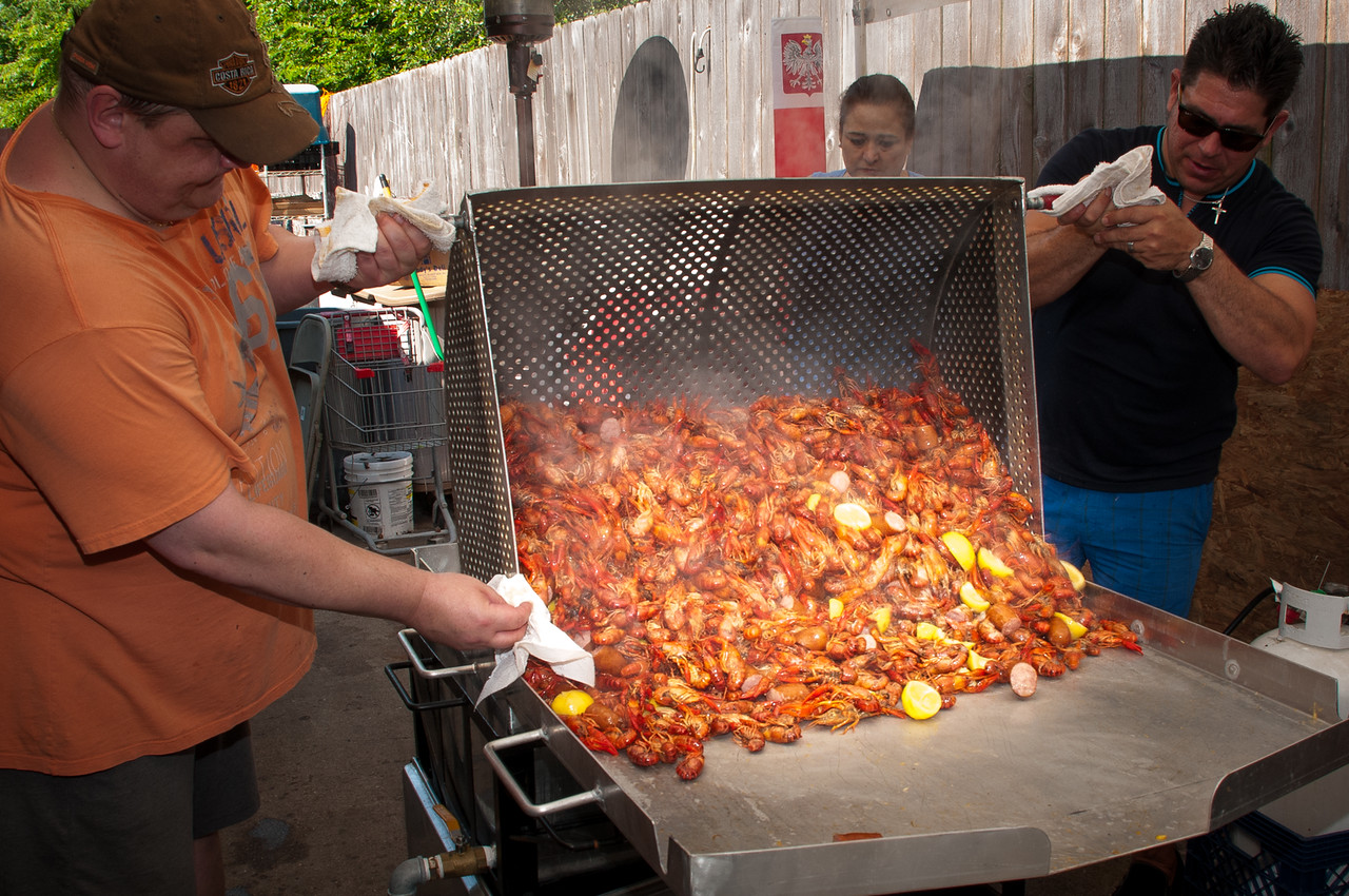 Polonia Restaurant Annual Crawfish Boil